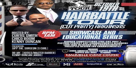 HAIR BATTLE TOUR ARKANSAS- OCT 19, 2019 tickets