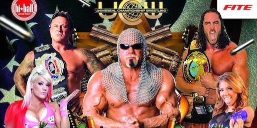 """UCW HALLOWEEN HAVOC Pro Wrestling""  LIVE PAY PER VIEW"