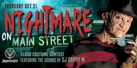 Nightmare on Main Street Halloween Costume Party at Tongue and Groove tickets