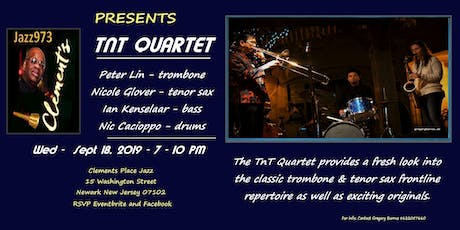 Jazz973 at Clements Presents Peter Lin and the TNT Quartet tickets
