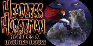Headless Horseman Hayride, Pumpkin Picking, Dinner -Day Trip ONLY