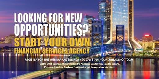 Start your Own Financial Services Agency Jacksonville FL