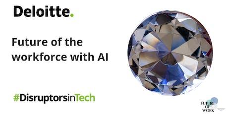 Future of the workforce with AI | #DisruptorsInTech Brisbane tickets