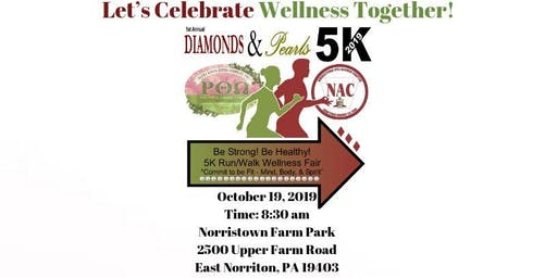 1st Annual Diamond & Pearls - 5K Run/1-Mile Walk & Wellness Fair