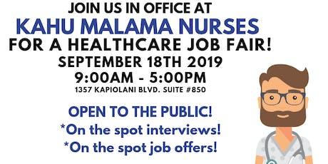 Healthcare Job Fair tickets