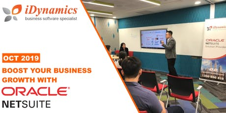 Boost your business for Growth with Oracle NetSuite #1 Cloud ERP tickets