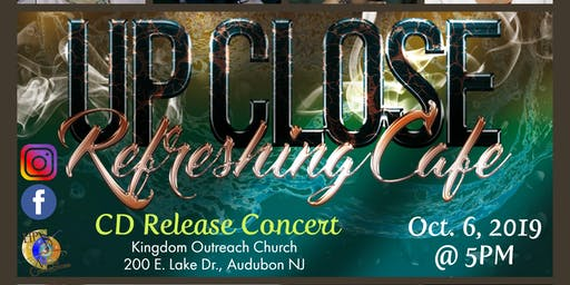 CD Release Concert - Refreshing Cafe Up Close