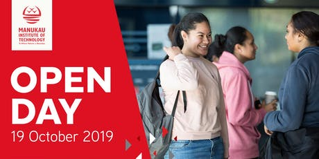 Manukau Institute of Technology Open Day 2019 tickets