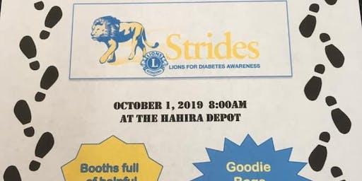 Lions Club Strides for Diabetes Senior Walk