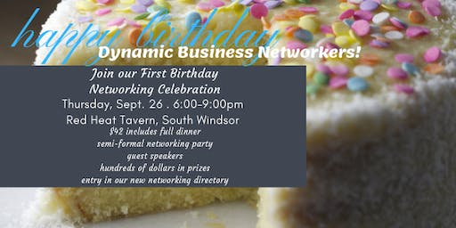 Dynamic Networkers Birthday Bash