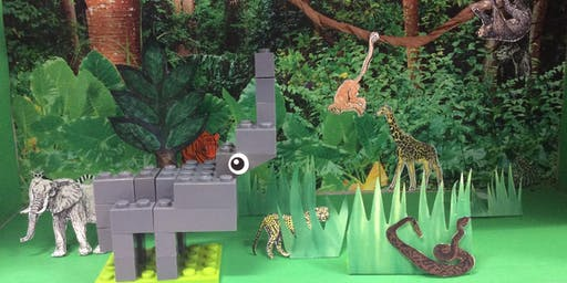 Lego Animals on the Loose @ Launceston Library
