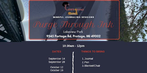 Purge Through Ink: Mindful Journaling Sessions