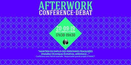 AFTERWORK : Conférence avec M. Patrick ISSARTELLE billets