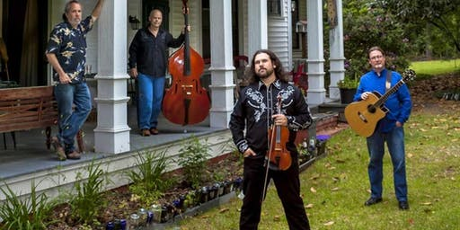 Dennis Stroughmatt & Creole Stomp returns to Harmony House 11/23
