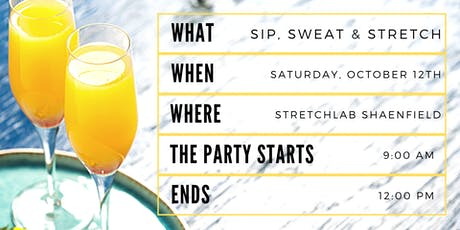 Sip, Sweat & Stretch tickets