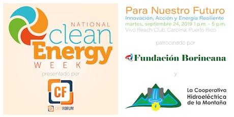 Para Nuestro Futuro - Innovación, Acción y Energía Resiliente  tickets