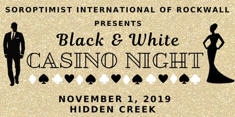 Black & White Casino Night tickets