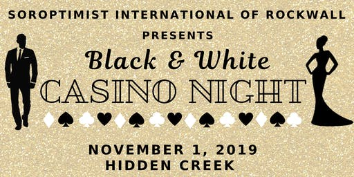Black & White Casino Night
