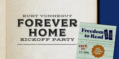 Kurt Vonnegut 'Forever Home' Kickoff Party + Colts Game Watching