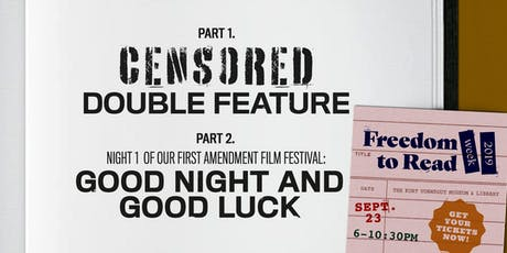 CENSORED Double Feature: Bradbury + Clooney @ KVML Freedom to Read Week tickets