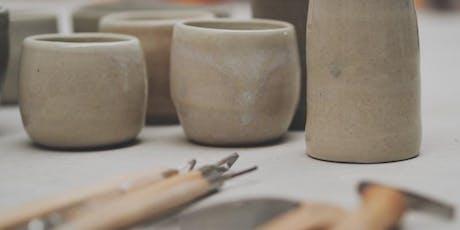 Not Yet Perfect- Pottery Wheelwork Workshop (Beginner - Inter) tickets
