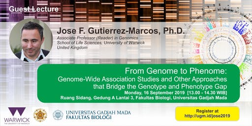 [Guest Lecture] From Genome to Phenome