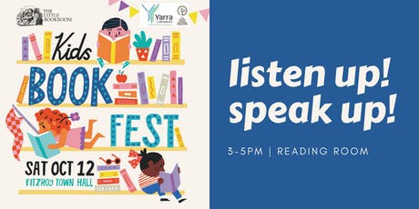 Kids Book Fest: Listen Up! Speak Up! tickets