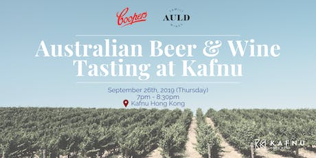 Australian Beer & Wine Tasting at Kafnu tickets