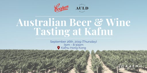 Australian Beer & Wine Tasting at Kafnu