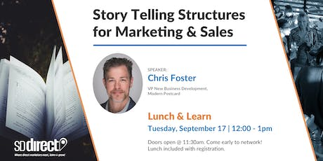 Storytelling for Marketing and Sales tickets