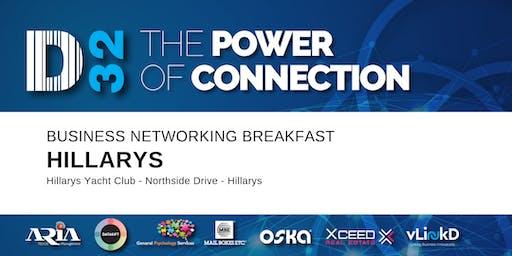 District32 Business Networking Breakfast – Hillarys - Tue 26th Nov