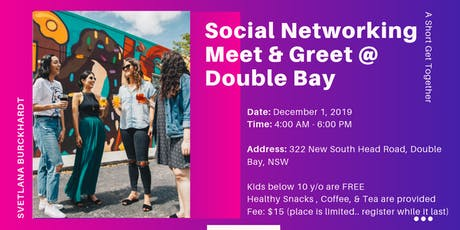 Social Networking (Meet & Greet) @ Double Bay tickets