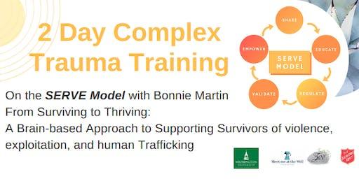 Complex Trauma Training in the SERVE Model with Bonnie Martin