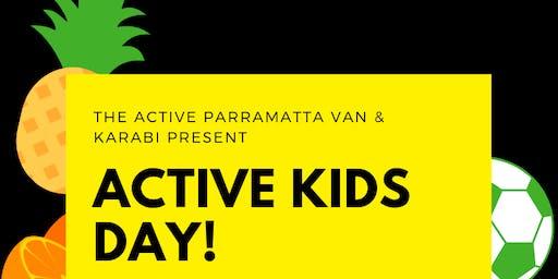 Active Parramatta Van - Active Kids Day!
