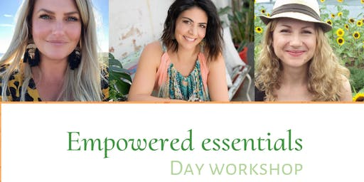 Empowered Essentials Workshop - Essential Oils ,  Crystals and Chakradance