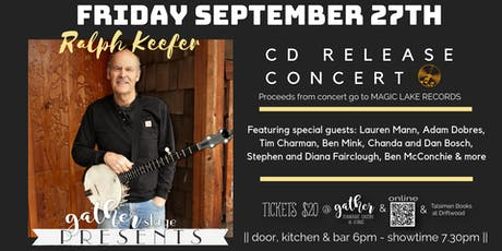 RALPH KEEFER CD Release Concert Celebration tickets
