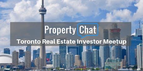 Toronto (GTA) Property Investor Meetup tickets