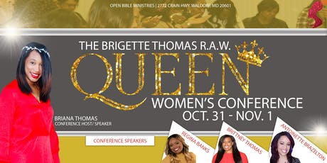 R.A.W. (Real Anointed Women) Conference tickets