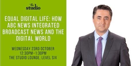 Speaker Series @ The Studio: Gaven Morris, Director of ABC NEWS tickets