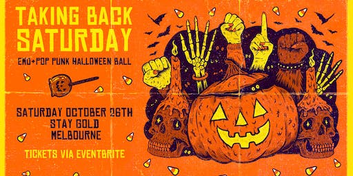 TAKING BACK SATURDAY: EMO & POP PUNK HALLOWEEN PARTY - Melbourne