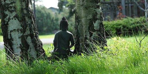 Sunday Morning Meditation at Eileen Fisher Headquarters in Irvington