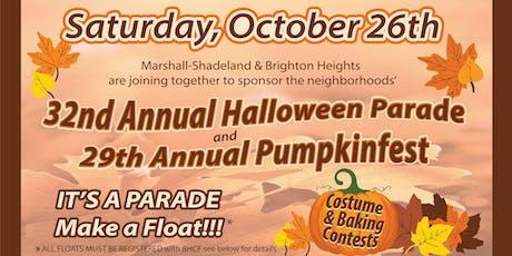 Halloween Parade & Pumpkinfest! tickets