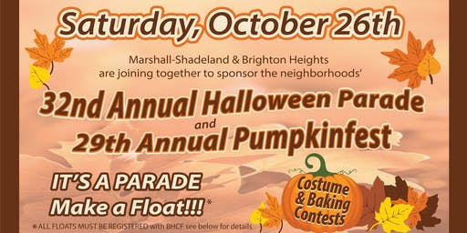 Halloween Parade & Pumpkinfest!