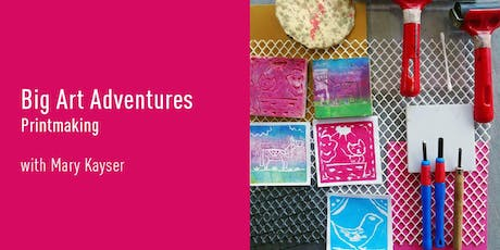 Big Art Adventures | Printmaking (Gungahlin) tickets