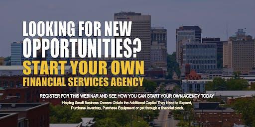 Start your Own Financial Services Agency Virginia Beach VA
