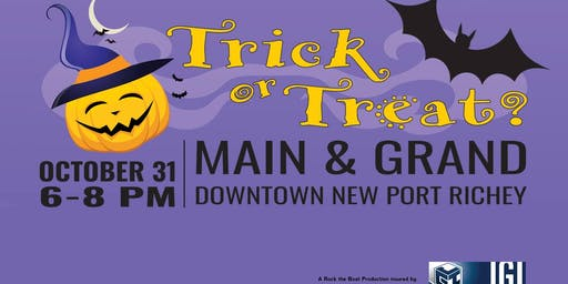 Trick or Treat Downtown NPR