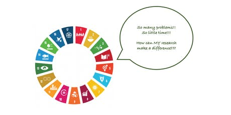 Making a Difference: Operationalising Your SDG Research tickets