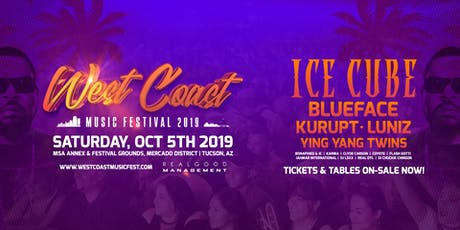 West Coast Music Festival 2019 tickets