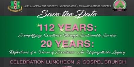 AKA 112th Founder's Day/Phi Lambda Omega Chapter Chartering Anniversary