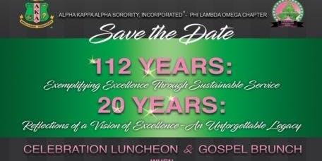 AKA 112th Founder's Day/Phi Lambda Omega Chapter Chartering Anniversary